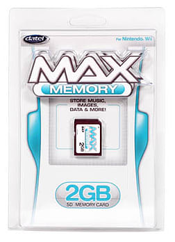 Datel Max Memory 2GB for Nintendo Wii Wii