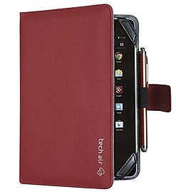 Tech Air 8 Universal Tablet Folio Jaquard - Red Tablet