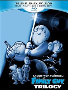 Family Guy Star Wars Trilogy: Laugh It Up Fuzzball Blu-ray