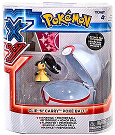 Pokemon Clip and Carry Mawile And Premier Ball Figurines and Sets