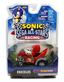 Sonic All-Stars Pullback Racer - Knuckles Figurines and Sets