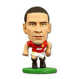 Soccerstarz - Man Utd Rio Ferdinand - Home Kit Figurines and Sets