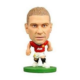 Soccerstarz - Man Utd Nemanja Vidic - Home Kit Figurines and Sets