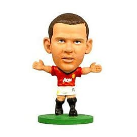 Soccerstarz - Man Utd Wayne Rooney - Home Kit Figurines and Sets