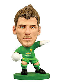 Soccerstarz - Man Utd David De Gea - Home Kit Figurines and Sets