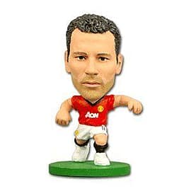 Soccerstarz - Man Utd Ryan Giggs - Home Kit Figurines and Sets