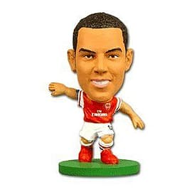 Soccerstarz - Arsenal Theo Walcott - Home Kit Figurines and Sets