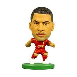 Soccerstarz - Liverpool Glen Johnson - Home Kit Figurines and Sets