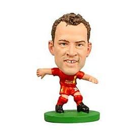 Soccerstarz - Liverpool Charlie Adam - Home Kit Figurines and Sets