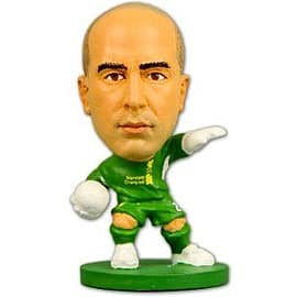 Soccerstarz - Liverpool Jose Reina - Home Kit Figurines and Sets