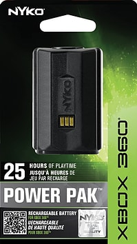 Nyko Power Pak Rechargeable Battery Pack for XBox 360 XBOX360