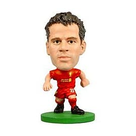 Soccerstarz - Liverpool Jamie Carragher - Home Kit Figurines and Sets