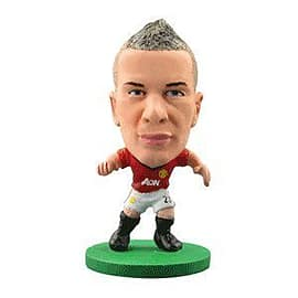 Soccerstarz - Man Utd Tom Cleverley - Home Kit Figurines and Sets