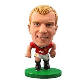 Soccerstarz - Man Utd Paul Scholes - Home Kit Figurines and Sets