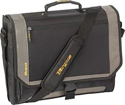 Targus XL Metro Messenger Notebook Case Black and Grey - Fits up to 17inch Notebooks PC