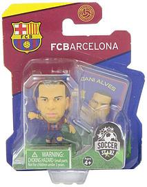 Soccerstarz - Barcelona Dani Alves - Home Kit Figurines and Sets