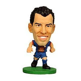 Soccerstarz - Barcelona Sergio Busquets - Home Kit Figurines and Sets