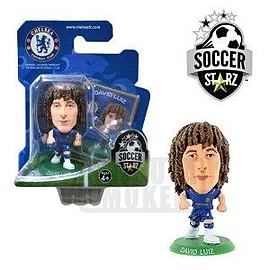 Soccerstarz - Chelsea David Luiz - Home Kit Figurines and Sets