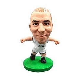 Soccerstarz - Real Madrid Karim Benzema - Home Kit Figurines and Sets
