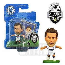 Soccerstarz - Chelsea Juan Mata away Kit Figurines and Sets