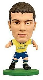 Soccerstarz Arsenal FC Jack Wilshere Limited Edition Away Kit Figurines and Sets