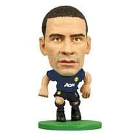 Soccerstarz Manchester United AWAY KIT - Rio Ferdinand Figurines and Sets