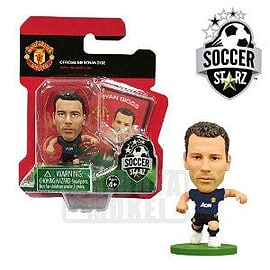 Manchester United F.C. SoccerStarz Giggs Away Figurines and Sets