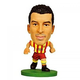 SoccerStarz FC Barcelona Pedro Rodriguez Limited Edition Away Kit Figurines and Sets