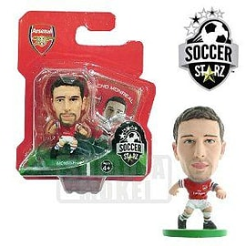 SoccerStarz Arsenal FC Nacho Monreal Home Kit Figurines and Sets