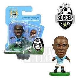Soccerstarz - Man City Micah Richards - Home Kit Figurines and Sets