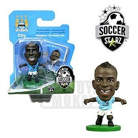 Soccerstarz - Man City Mario Balotelli - Home Kit Figurines and Sets
