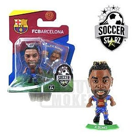 Soccerstarz - Barcelona Alex Song - Home Kit Figurines and Sets