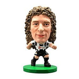 Soccerstarz - Newcastle Fabricio Coloccini - Home Kit Figurines and Sets