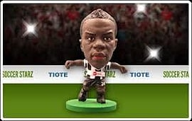 Soccerstarz - Newcastle Cheick Tiote Figurines and Sets