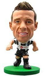 Soccerstarz - Newcastle Yohan Cabaye - Home Kit Figurines and Sets