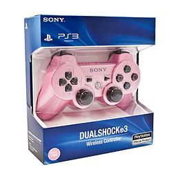 Official Sony PS3 Dual Shock 3 Controller - Candy Pink PS3