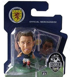 Soccerstarz - Scotland Darren Fletcher - Home Kit Figurines and Sets