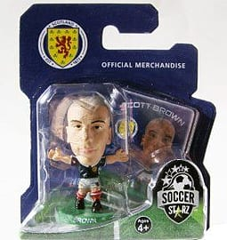 Soccerstarz - Scotland Scott Brown - Home Kit Figurines and Sets