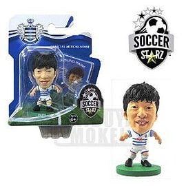 Soccerstarz - Qpr Park Ji Sung - Home Kit Figurines and Sets