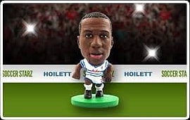 Soccerstarz - Qpr Junior David Hoilett - Home Kit Figurines and Sets