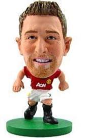 Soccerstarz - Man Utd Darren Fletcher - Home Kit Figurines and Sets