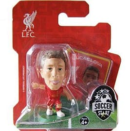 Soccerstarz - Liverpool Lucas Leiva - Home Kit Figurines and Sets