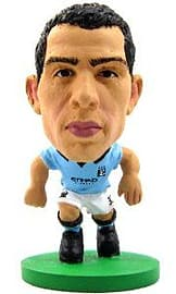 Soccerstarz - Man City Carlos Tevez - Home Kit Figurines and Sets