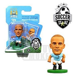 Soccerstarz - Man City Vincent Kompany - Home Kit Figurines and Sets
