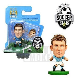 Soccerstarz - Man City James Milner - Home Kit Figurines and Sets