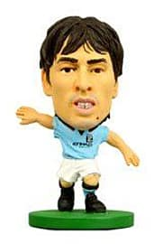 Soccerstarz - Man City David Silva - Home Kit Figurines and Sets