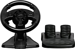 Speedlink Darkfire Racing Wheel For PC/sony PS3 With Force Vibration, Black PS3
