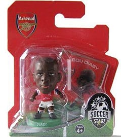 Soccerstarz - Arsenal Abou Diaby - Home Kit Figurines and Sets