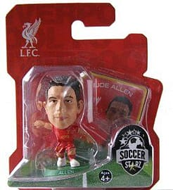 Soccerstarz - Liverpool Joe Allen - Home Kit Figurines and Sets