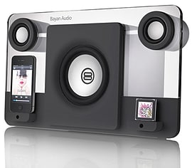 Bayan Audio Bayan 5 Speaker Dock (Black) for iPod and iPhone Audio